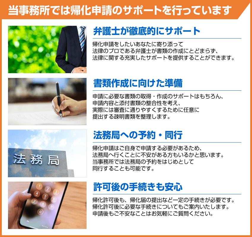 八戸シティ法律事務所では帰化申請のサポートを行っています